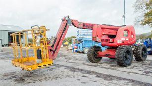Haulotte HA16PX diesel driven 4WD rough terrain articulated boom access platform Year: 2007 S/N: