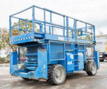 Genie GS4390 43 ft Rough Terrain 4 x 4 diesel driven mobile scissor lift access platform Year: