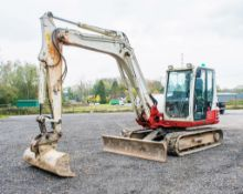 Takeuchi TB290 8.5 tonne rubber tracked excavator Year: 2014 S/N: 00246 Recorded Hours: 5909