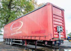 Fruehauf 13.6 metre tri axle curtain sided trailer Year: 2003 Identification Number: C140710 S/N: