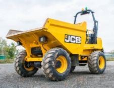 JCB 9T-1 9 tonne straight skip dumper Year: 2018 S/N: J2561073 Recorded Hours: 1015 6297 c/w Front