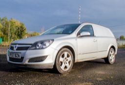 Vauxhall Astra 1.7 CDTi 6 speed manual panel van Registration Number: PF57 BZN Date of Registration: