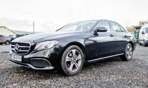 Mercedes Benz E220D SE auto diesel 4 door saloon car Registration Number: FX68 UYH Date of First