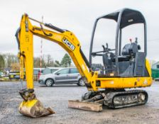 JCB 8014 CTS 1.4 tonne rubber tracked excavator Year: 2015 S/N: 70461 Recorded Hours: 850 Piped,