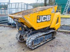 JCB HTD-5 Dumpster 500kg diesel driven rubber tracked hi-tip dumper Year: 2018 S/N: 2610018 LPH