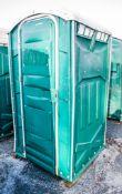 Portable plastic toilet
