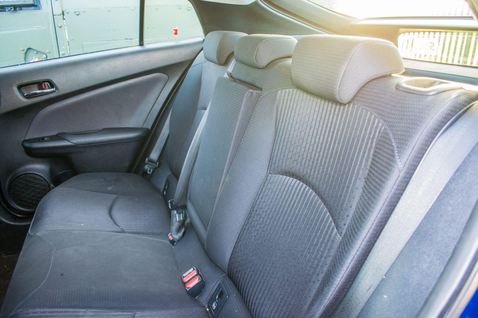 ToyotaPrius ActiveHybrid Electric 5 doorHatchback  Registration Number: LM67 OKH Date of First - Image 15 of 17
