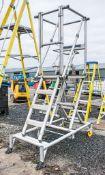 Youngman Adjusta Minit self erecting aluminium podium A701366