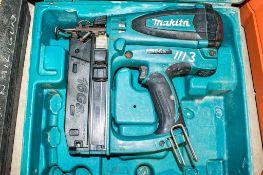 Makita nail gun c/w carry case ** No battery or charger **