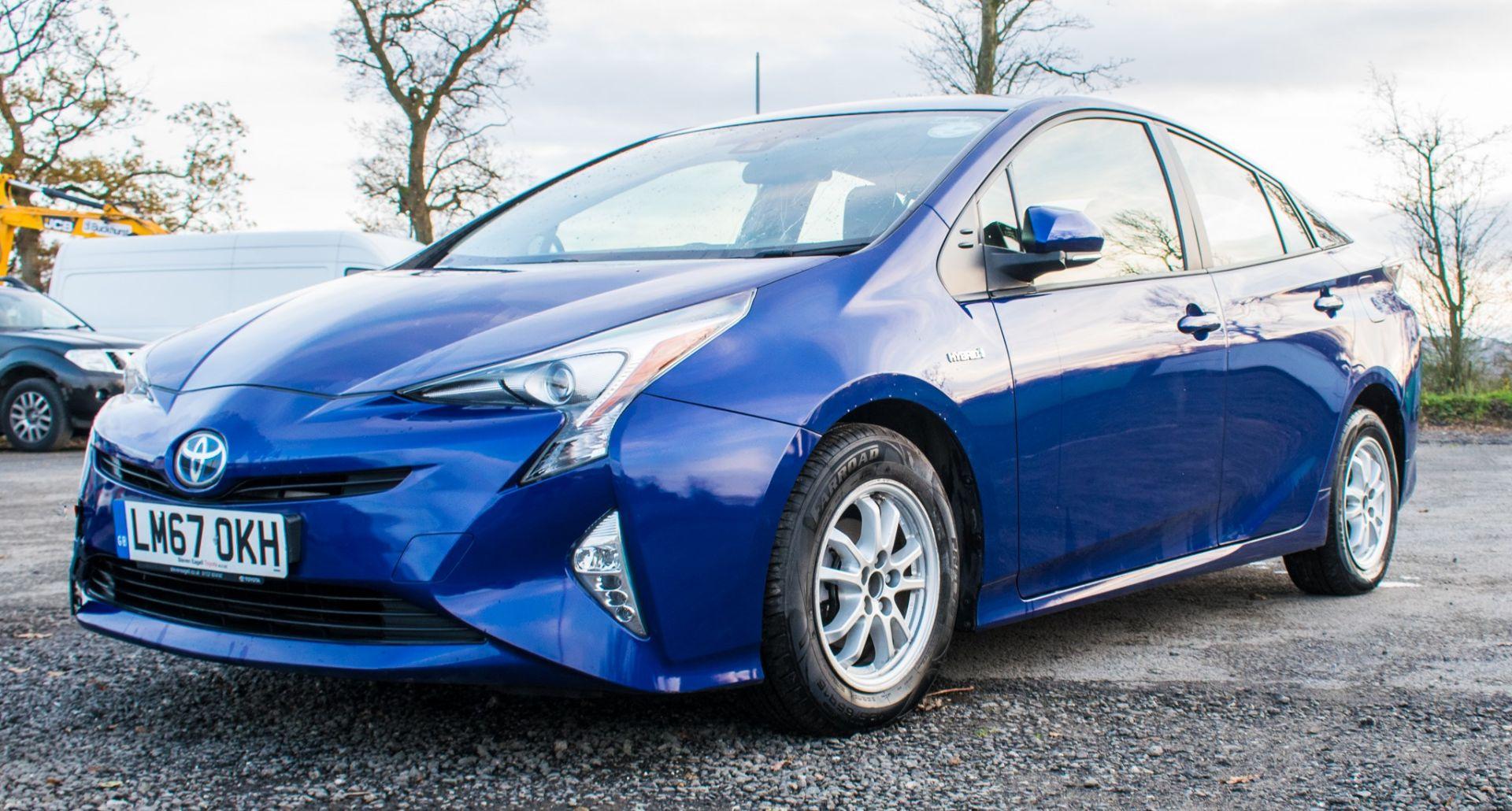ToyotaPrius ActiveHybrid Electric 5 doorHatchback  Registration Number: LM67 OKH Date of First