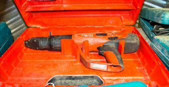 Hilti DX460 nail gun c/w carry case 3152634