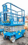 Genie GS1932 battery electric scissor lift access platform Recorded Hours: 193 08830063
