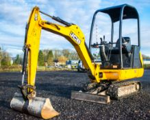 JCB 8014 CTS 1.4 tonne rubber tracked excavator Year: 2015 S/N: 71284 Recorded Hours: 962 Piped,