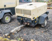 Doosan 7/26E diesel driven fast tow mobile air compressor/generator S/N: 109189 Recorded Hours: 1129
