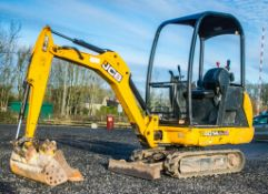 JCB 8014 CTS 1.4 tonne rubber tracked excavator Year: 2014 S/N: 2070479 Recorded Hours: 2371