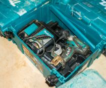Makita 18v 1/2 inch drive impact gun c/w battery, charger & carry case