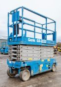Genie GS3232 battery electric scissor lift access platform Year: 2007 S/N: 88244 Recorded Hours: 411