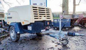 Doosan 7/31E+ diesel driven fast tow mobile air compressor Year: 2015 Recorded Hours: 457 OPFO-0017