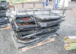 7 - Pallets of various cab guards