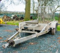Indespension 8ft x 4ft tandem axle plant trailer S/N: 121031 A727660