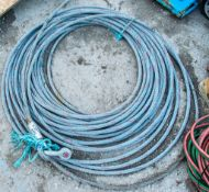 Wire winch rope