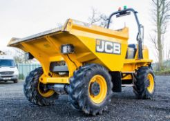 JCB 6 tonne straight skip dumper Year: 2018 S/N: J2561385 Recorded Hours: 601 MA68 HTG