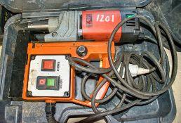 Alfra 110v mag mount drill c/w carry case