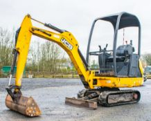JCB 8014 CTS 1.4 tonne rubber tracked excavator Year: 2015 S/N: 70485 Recorded Hours: 1763 Piped,