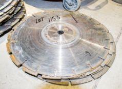 9 - 300mm used diamond cutting discs