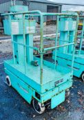 Battery electric mobile personnel lift
