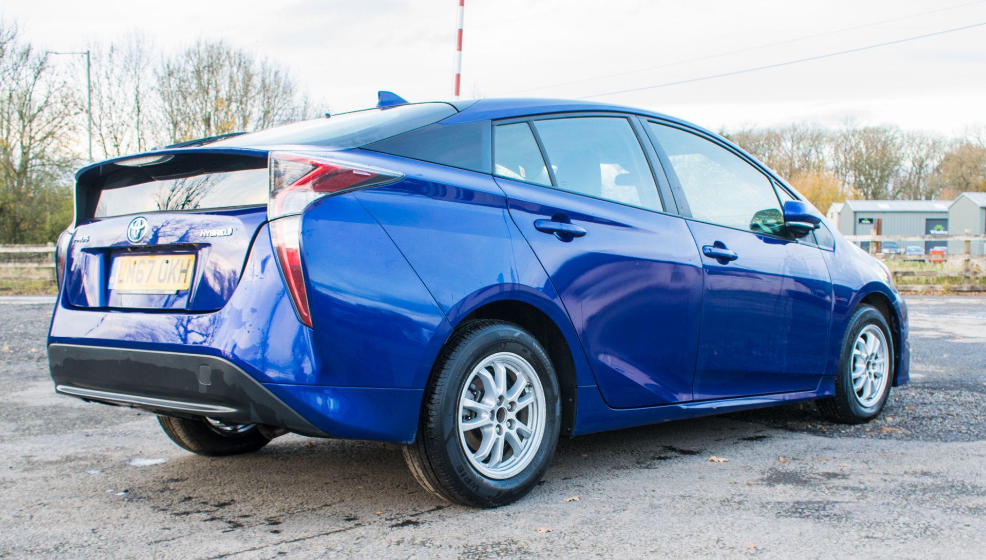 ToyotaPrius ActiveHybrid Electric 5 doorHatchback  Registration Number: LM67 OKH Date of First - Image 3 of 17
