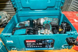 Makita 18v cordless power drill c/w battery, charger & carry case A742547