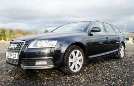 Audi A6 SE 2.7 TDi 6 speed manual diesel estate car Registration Number: SJ09 RDX Date of