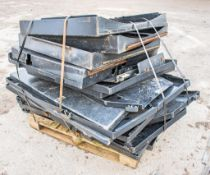 Pallet of various cab guards
