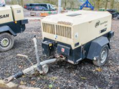 Ingersoll Rand 7/26E diesel driven fast tow mobile air compressor/generator Year: 2011 S/N: 108809