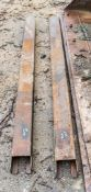 Pair of 6 ft extension forks A957840