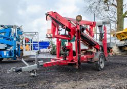 Nifty 120T battery electric fast tow articulated boom access platform Year: 2006 S/N: 14979