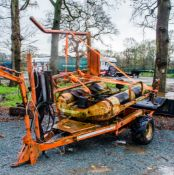 Parmiter TR76 bale wrapper ** No VAT on hammer price but VAT will be charged on the buyers