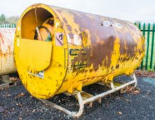 Fuel Store 500 Gallon bunded static fuel bowser c/w hand pump, delivery hose, and trigger nozzle