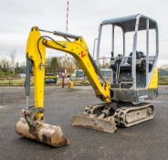 Wacker Neuson ET16 1.5 tonne rubber tracked excavator Year: 2017 S/N: AL00541 Recorded Hours: