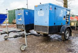 Stephill SSDK20 20 kva diesel driven fast tow generator Year: 2014 S/N: 600474 Recorded Hours: