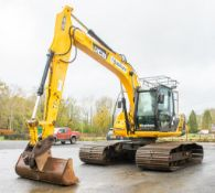 JCB JS130-LC 13 tonne steel tracked excavator Year: 2012 S/N: 786610 Recorded Hours: 6421 Piped, air