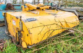 JCB 240 hydraulic sweeper attachment