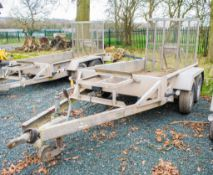 Indespension 8ft x 4ft tandem axle plant trailer S/N: 122668 A727973