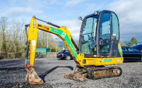 JCB 801.6 1.5 tonne rubber tracked mini excavator Year: 2013 S/N: 2071477 Recorded Hours: 1477