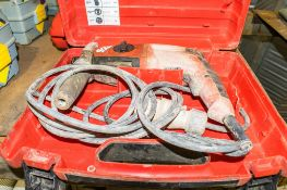 Hilti TE2-M 110v SDS rotary hammer drill c/w carry case A741198 ** Chuck missing **