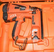 Paslode nail gun c/w carry case ** No battery or charger **