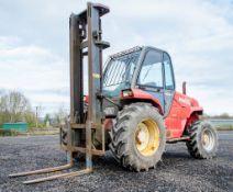Manitou M26-4 2.6 tonne diesel driven rough terrain fork lift truck Year: 2000 S/N: 150907 P2106
