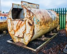Main 2000 litre bunded fuel bowser c/w delivery hose ** No hand pump and trigger nozzle ** SS9