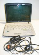 Acer laptop & charger ** Password locked **